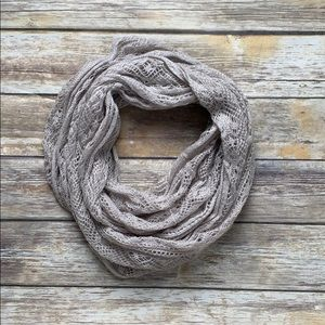Nordstrom BP Lace Knit Infinity Scarf